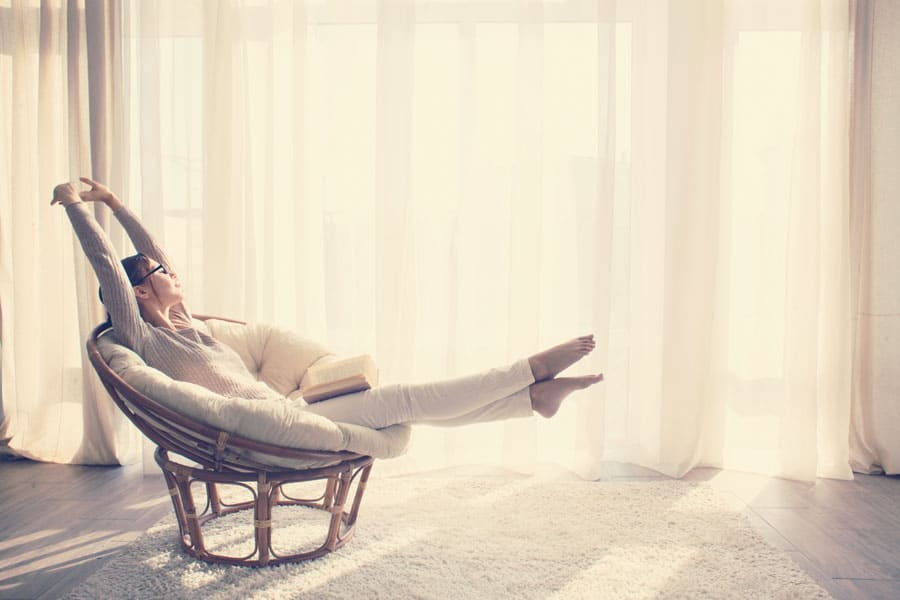 relaxation a la maison