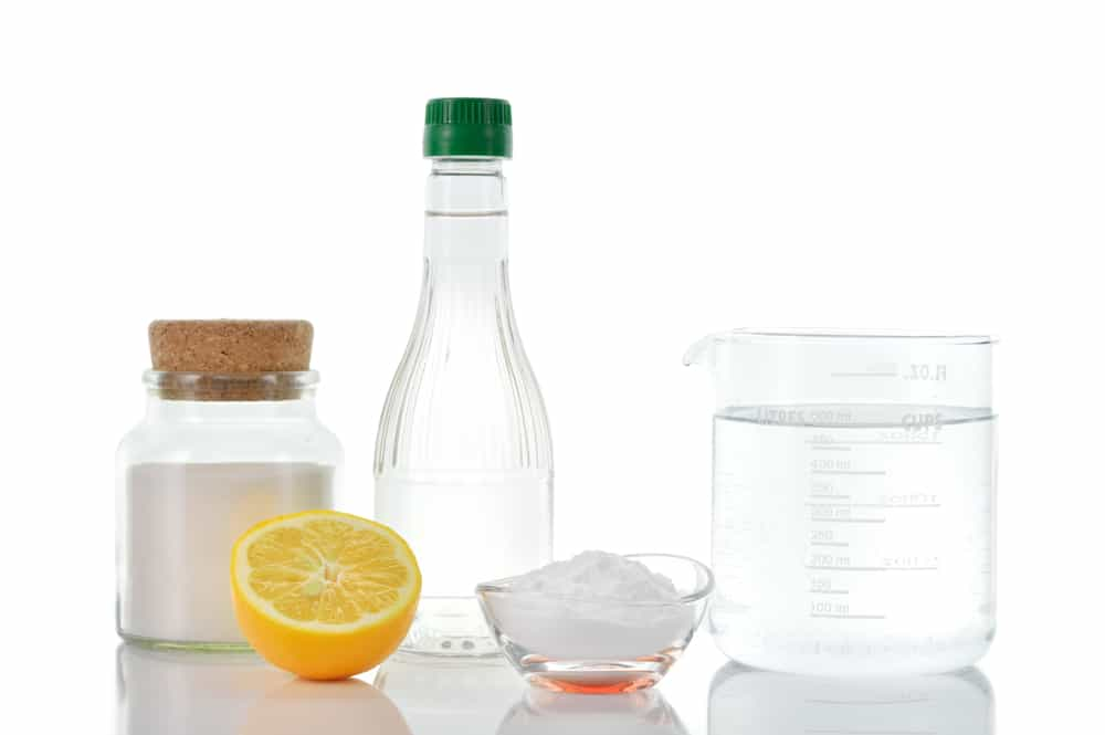 vinaigre blanc citron bicarbonate