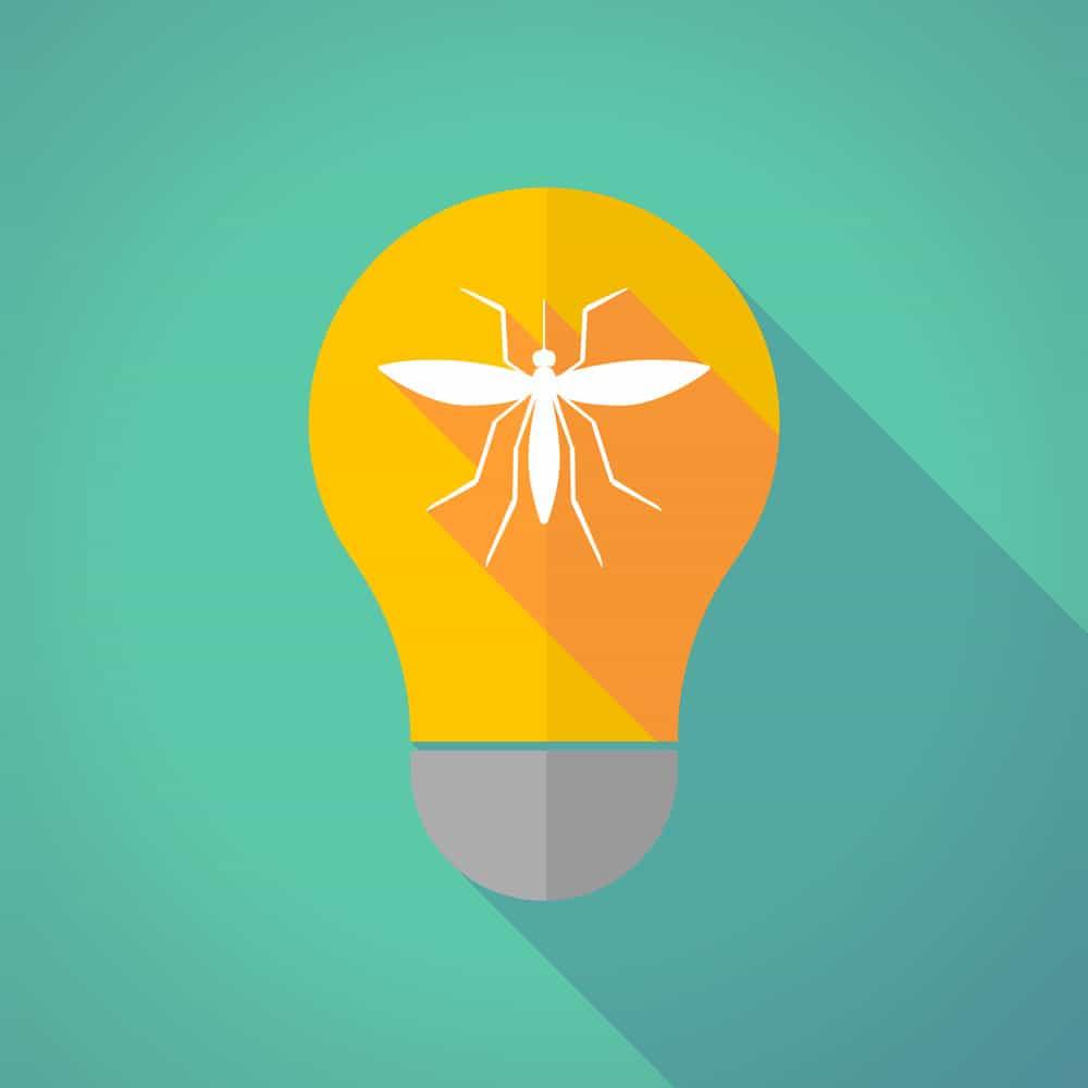 ampoule jaune moustique