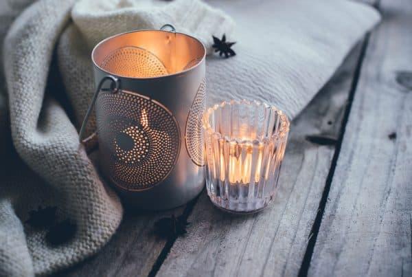 bougies cosy