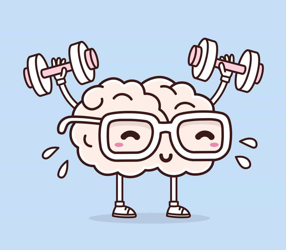cerveau sollicité