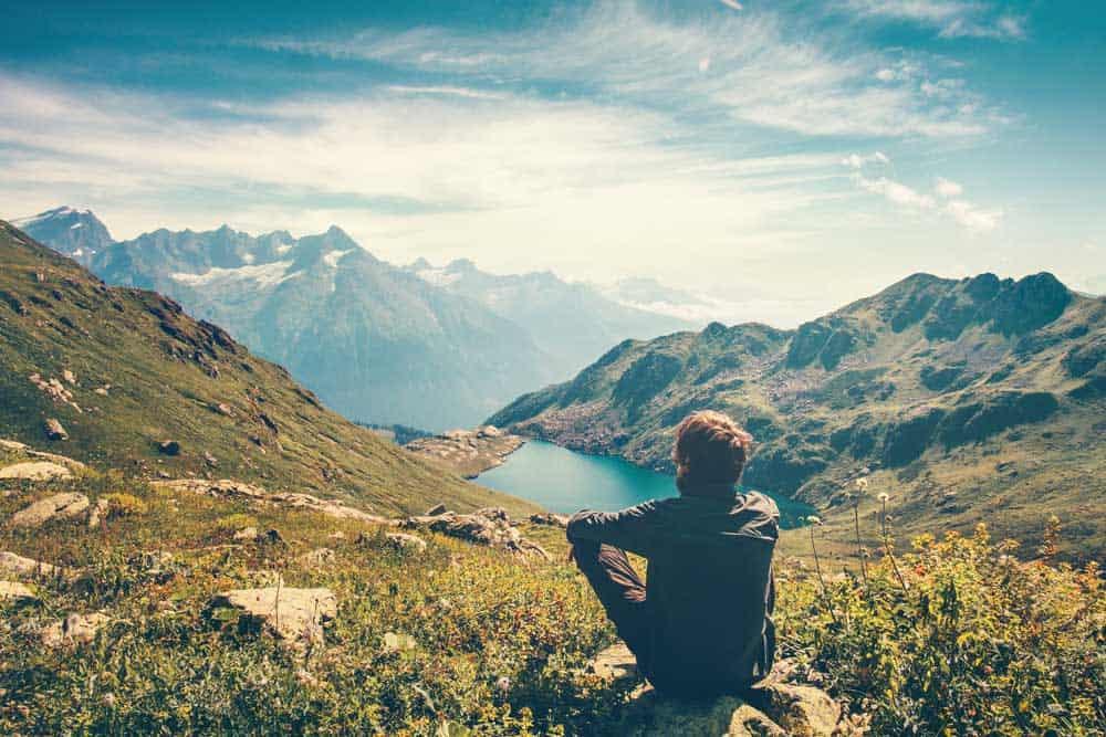 meditation en extérieur
