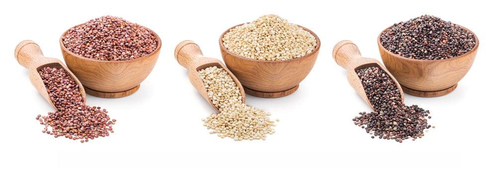 quinoa rouge noir