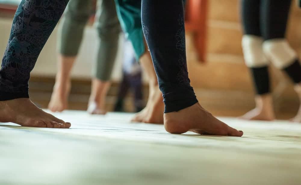 pieds dance
